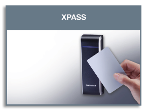 lettore di badge Xpass